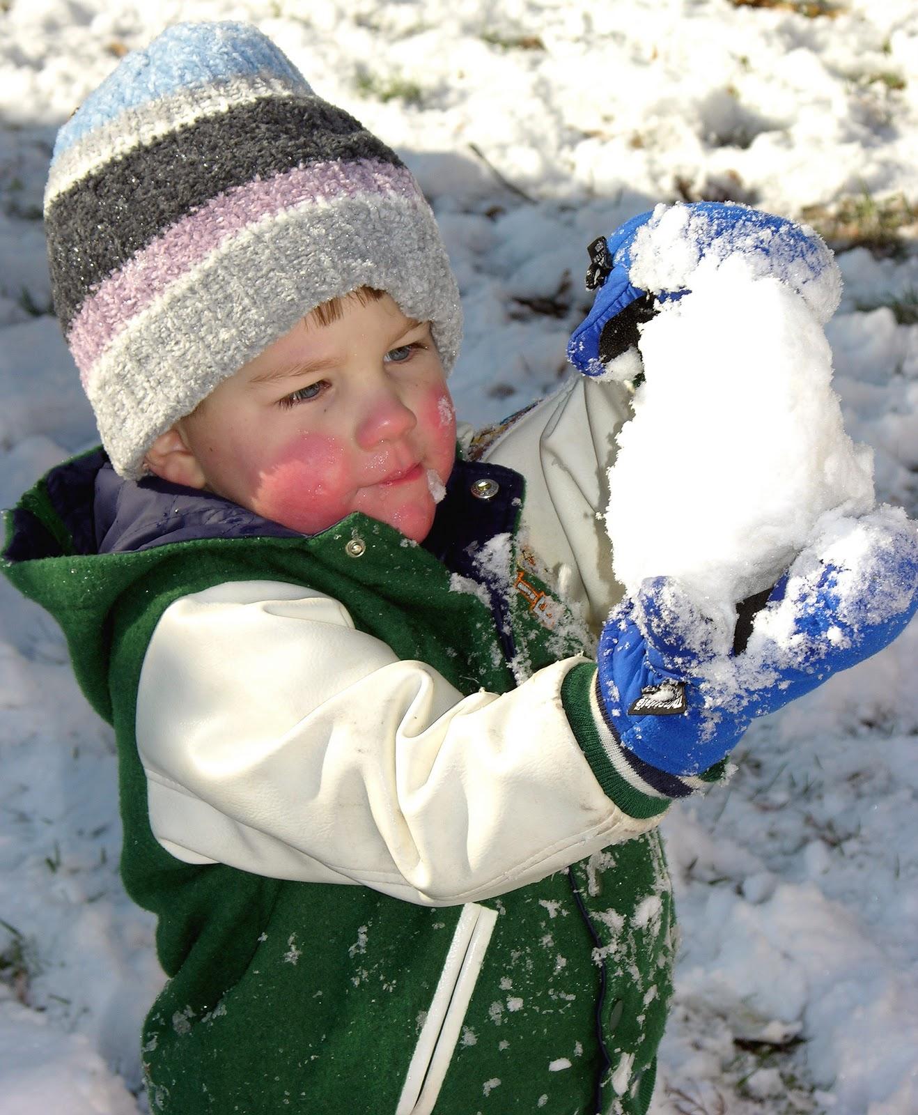 Фото детей 6 лет зимой